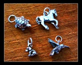 Jewelry Supply  - Extra Charms - Add On Extra Charms ( 3 D )To Your Custom Necklace or Bracelet