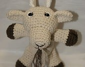 Billy Billy Billy Goat Named John Amigurumi Animal - US Shipping Included