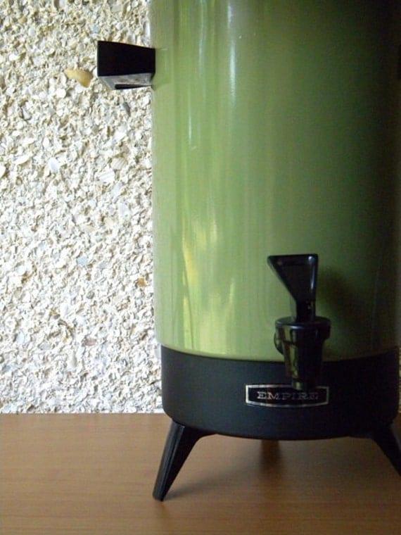 Vintage Empire Coffee Server, Percolator, Carafe in Avocado Green
