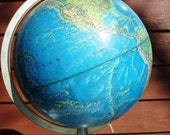 20% OFF Sale 1960s Vintage Globe of the World