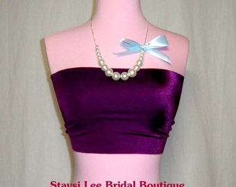 Bandeau Tube Top  for Wrap Twist Dress ---  Matching or Coordinating Colors