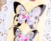 Handmade Gift Package Kit set of 2- Butterfly Cheer