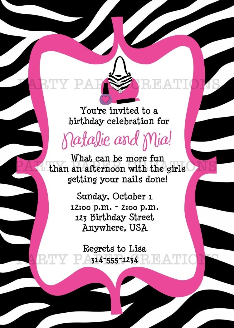 11Th Birthday Invitation Wording with perfect invitations template