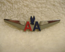 Vintage American Airlines Wings