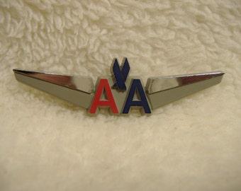 Vintage American Airlines Wings