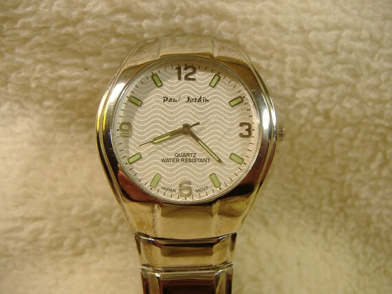 Vintage 1980s paul jardin mens quartz watch for Paul jardin quartz watch