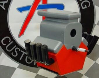 Blown Race Motor  Yes it's a Birdhouse
