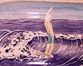 Surfer Tray Pottery