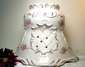 Vintage Cloche White French Country Cottage SPECIAL price