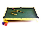 Antique Toy Billiards Vintage Pool Table 1923 Modern Boy Metal Game