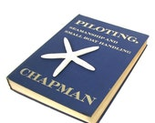 Vintage Nautical Book Blue Chapman Boating Seamanship 1969
