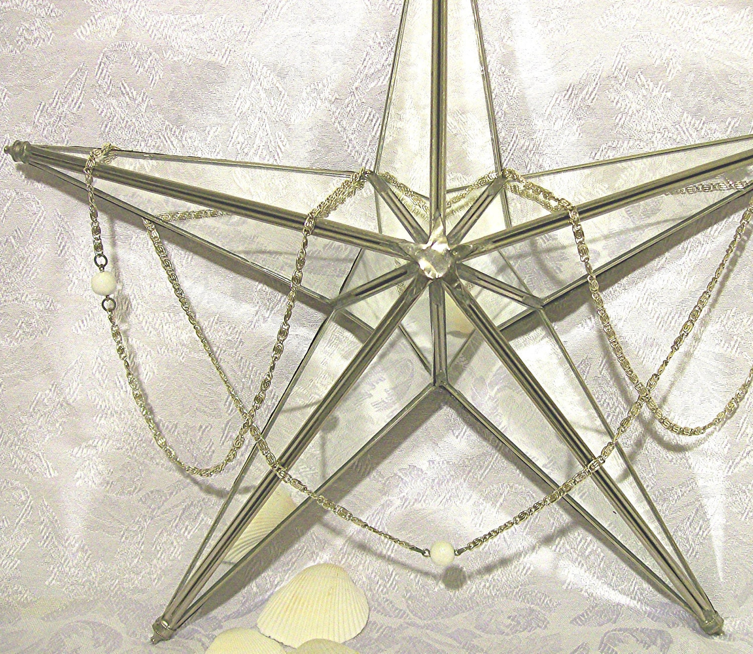 Vintage Star Wall Decor : Sold vintage mirror star wall decor