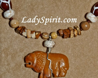 The King of the Savannah Lion Necklace