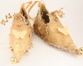 Fairy Shoes Golden Yellow belong to Cornflower Rose Faerie