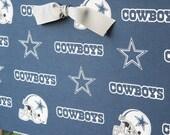 Fabric Covered Magnet Board - 18x12 - Dallas Cowboys