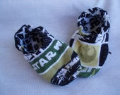 Baby Boy Shoes Booties Boy - Star Wars - JaclynsDesigns