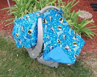 Baby Car Seat Cover Batman