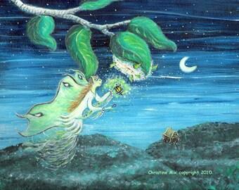 The Luna Moth Fairy