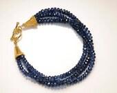 Sensational Sapphire Blue Kyanite Bracelet