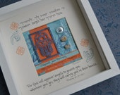 Papercut Hamsa Blessing Box