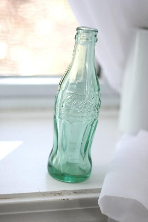 1950s Coca-cola glass bottle.