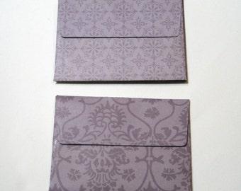"Handmade A1 (4-bar) Envelopes - 5 Count - Sticker Seal - 5.125"" x 3.625"""