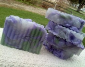French Lilac Soap Slice