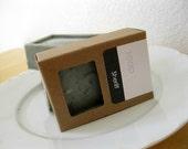 Activated Charcoal Soap Sheriff Men's Soap Natural Hot Process Soap Bar Gunpowder Leather Scent Bath Soap Bar 5oz