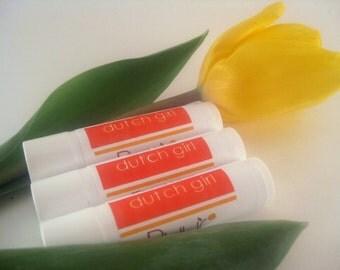 Beeswax Lip Balm - Chocolate Orange Vanilla Lip Butter with Shea Butter  Moisturizing - Dutch Girl