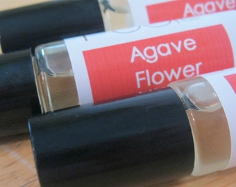 Agave Flower Perfume Oil  Roll on Perfume Exotic Tropical Floral Scent