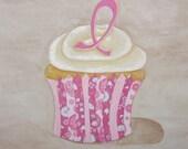 Hope Cupcake Art Print