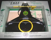 1965 Nice 1960s Eagle vintage Golf Putting Practice Game in original box complete ac powered no battery Mad men office leisure
