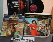 Porgy and Bess Gershwin LP Record Lot 1940s 1950s 1960s VG