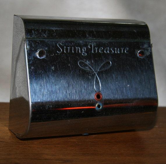 1940s String treasure string older chrome streamlined 1950s