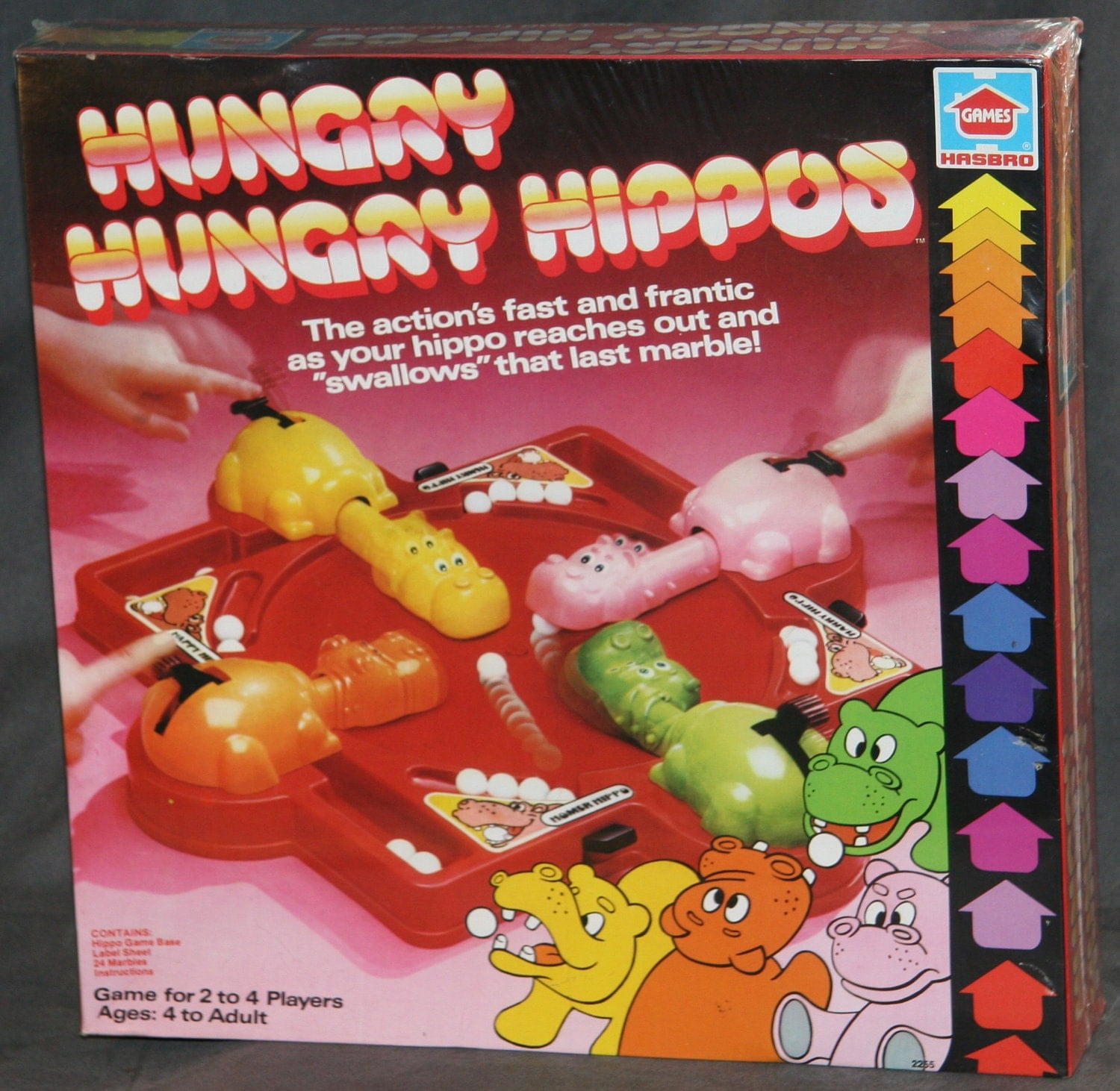 how to play i was hungry game