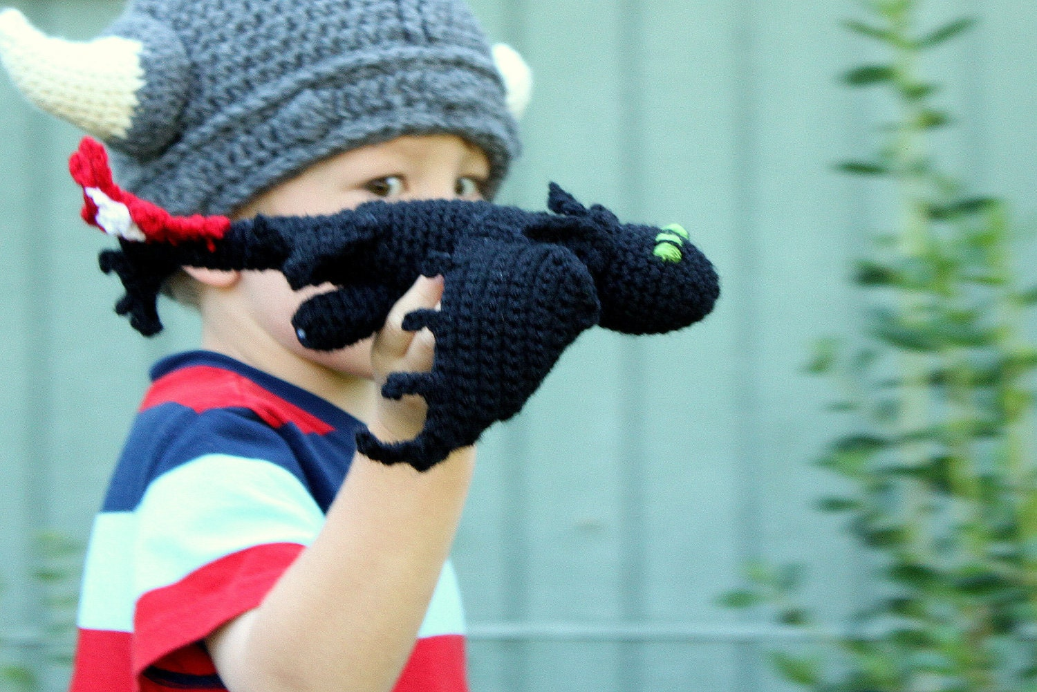 Free Crochet Pattern For Toothless The Dragon : Toothless/Night Fury Dragon PDF Pattern by BrindyRae on Etsy