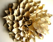 Upcycled Book Paper Wreath