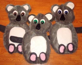 "SALE - Whimsical ""Katie the Koala"" Toddler / Baby Blankie"
