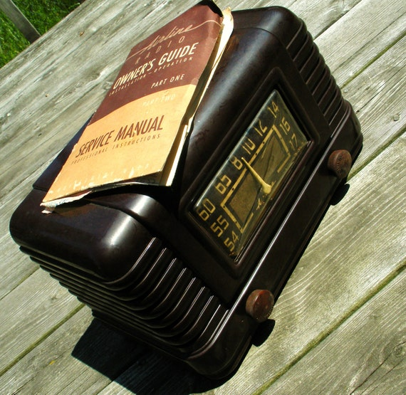 1947 Airline Radio 64BR-1205 in the box