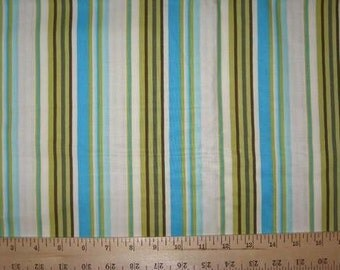 Amy Butler Daisy Chain Happy Stripe Fabric 1 Yard 33""