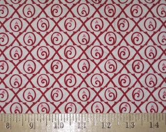 Be Mine Deb Strain for Moda X and O Valentine fabric 1 yard