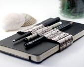 Journal Bandolier // organize your pencils // birches