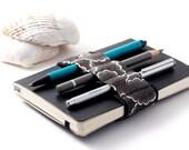 Mini Bandolier // alt pen loop // black tempest
