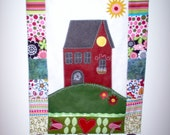 House on a Hill Wall Hanging