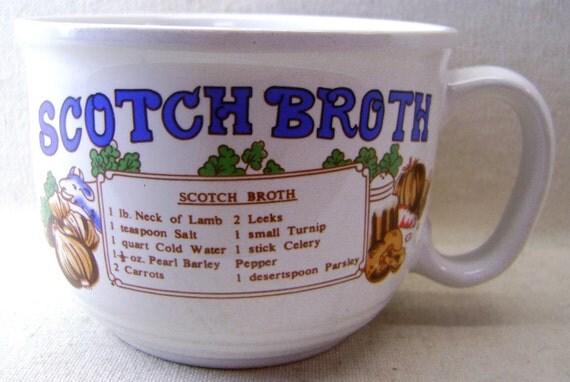 Scotch Broth Ceramic Soup Bowl