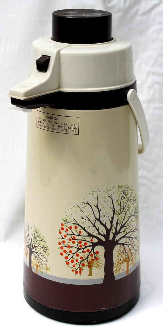 Retro Vacuum Coffee Pot - The Four Seasons - Air Pot - 33% Off Sale