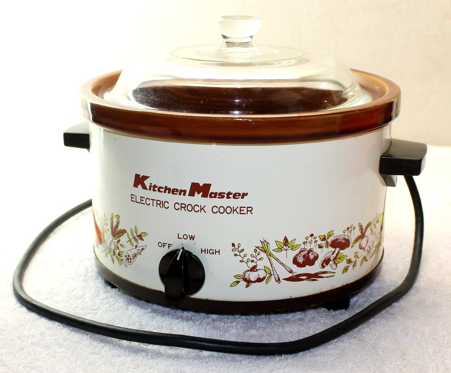 Electric Crock Pot ~ Kitchen master electric crock pot slow cooker k