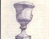Ode on a Grecian Urn- Fine Art Print