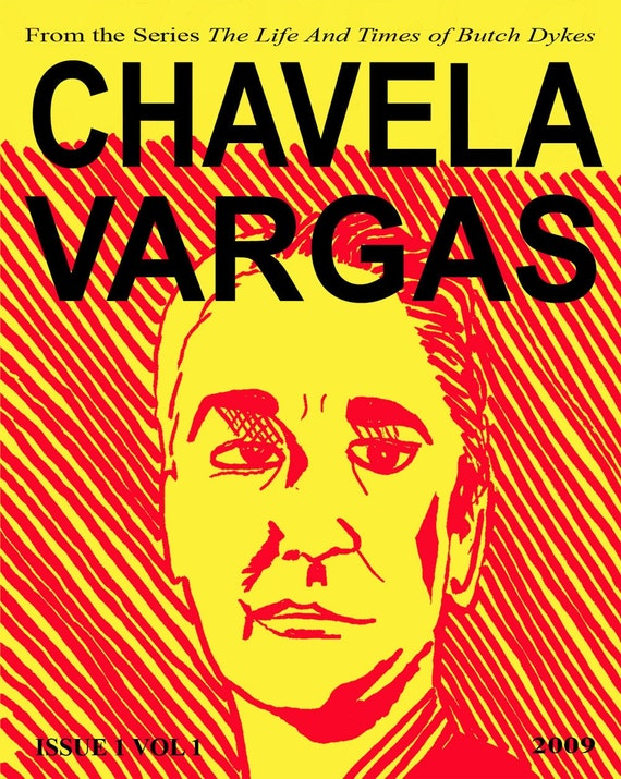 Chavela Vargas, from the series The Life and Times of Butch Dykes
