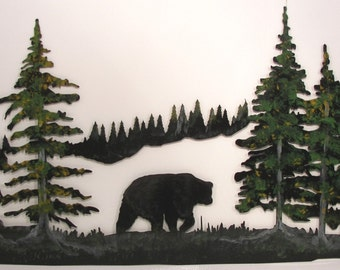 Bear in the Pines